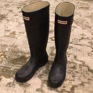 Black Hunter Rainboots